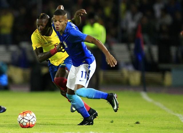 Equador x Brasil - Campeonato Sul-Americano sub-20 2017 ... 8dde150d00d19