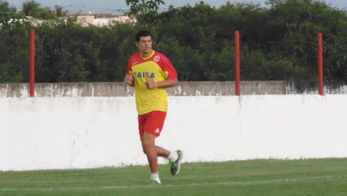 Edson Rocha, zagueiro do América-RN (Foto: Divulgação/América-RN)