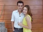 Joaquim Lopes brinca com dotes culinários de Paolla Oliveira: 'Café ótimo'