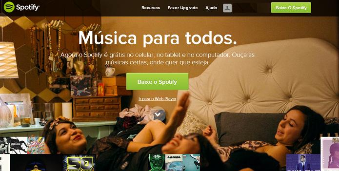 Spotify tem serviço de músicas offline (Foto: Thiago Barros/Reprodução)