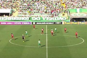 Chapecoense x Vitória (Foto: Reprodução)