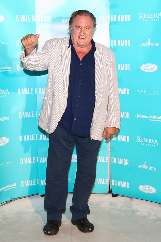 Gerard Depardieu (Foto: Manuela Scarpa/ Brazil News)