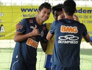 Cruzeiro em Florianopolis (Foto: Tarcisio Badaró / Globoesporte.com)