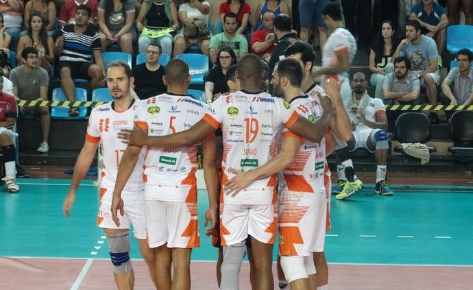 JF Vôlei x Maringá Superliga Masculina (Foto: Bruno Ribeiro)