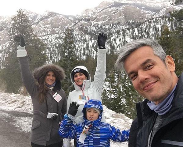 Flavia Alessandra, Otaviano Costa e Olivia (Foto: Reprodução/Instagram)