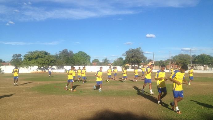 Palmas sub-20 foca na Taça BH e prepara elenco para a disputa (Foto: Camila Rodrigues/GloboEsporte.com)