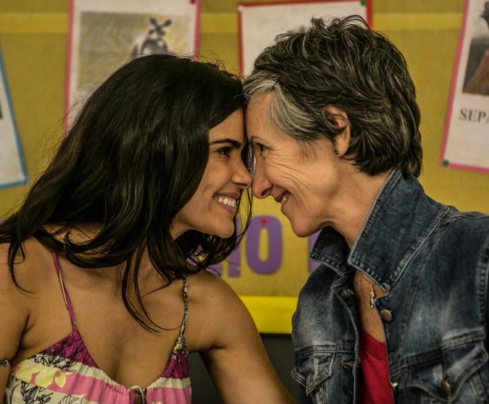Vanessa Giácomo e Cassia Kis (Foto: Inácio Moraes / Gshow)