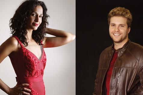 Camila Pitanga e Thiago Fragoso (Foto: Contigo!/TV Globo)
