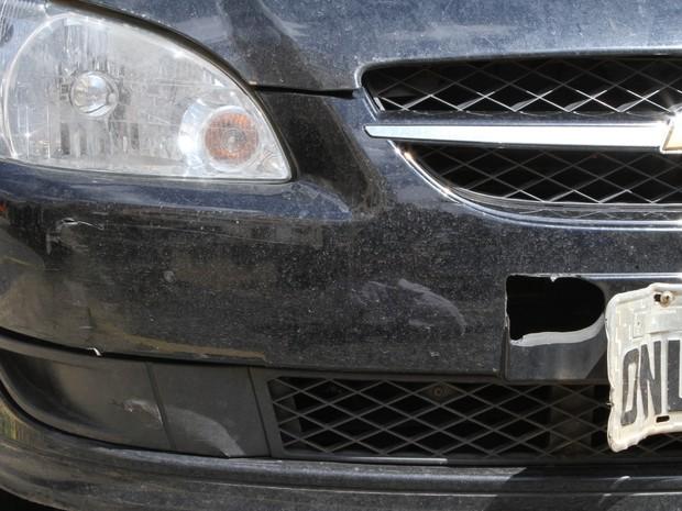 O químico Gabriel Lassi sofreu um acidente de carro na segunda-feira, em Goiânia, Goiás (Foto: Arquivo Pessoal/Umaitá Pires)