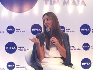 Cantora Ivete Sangalo se apresenta em Porto Alegre neste domingo (12) (Foto: Rafaella Fraga/G1)