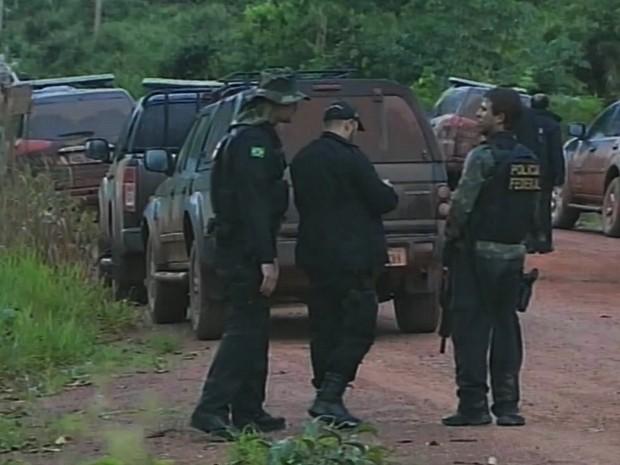 Buscas são realizadas em região de mata fechada  (Foto: Reprodução/TV Rondônia)