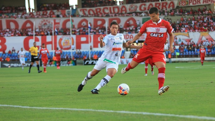 CRB x ASA, no Rei Pelé (Foto: Ailton Cruz/Gazeta de Alagoas)