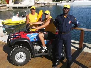 Agentos vão operar no mar e na terra para fiscalizar ações.  (Foto: Walmor Freitas/W2Imagens )