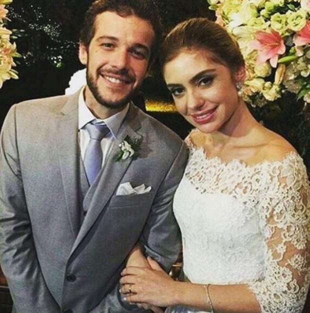 Jayme Matarazzo e Luiza Tellechea  (Foto: Instagram / Reprodução)
