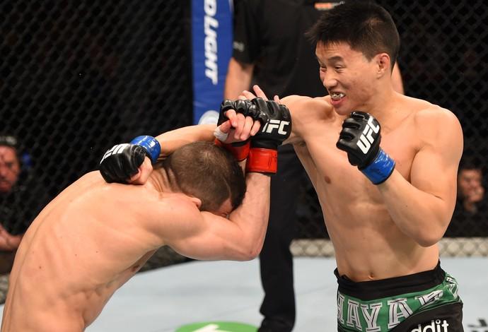 Ben Nguyen x Alptekin Ozkilic UFC: Hunt x Miocic (Foto: Getty Images)