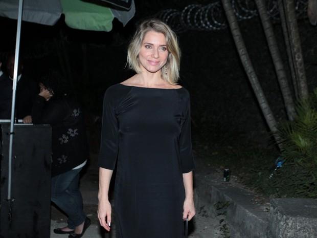 Letícia Spiller em festa na Zona Sul do Rio (Foto: Marcello Sá Barretto/ Ag. News)