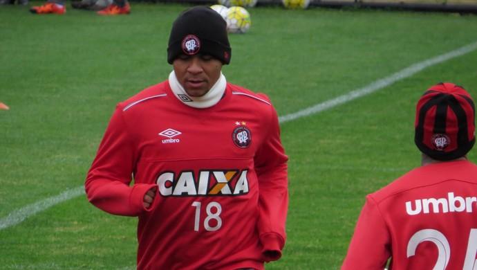 Walter Atlético-PR (Foto: Fernando Freire)