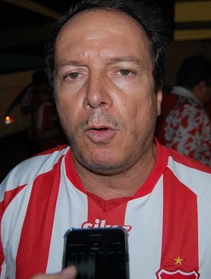 Watteau Rodrigues, presidente do Auto Esporte (Foto: Silas Batista / GloboEsporte.com)