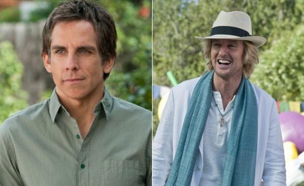 'Entrando Numa Fria Maior Ainda Com a Família' marcou a décima vez que Ben Stiller e Owen Wilson trabalharam juntos (Foto: divulgação / reprodução)