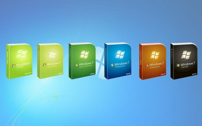 Windows 7 e suas diferentes versões: qual escolher?  (Foto: Arte/TechTudo)