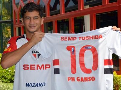ganso são paulo camisa 10 (Foto: Divulgação/sãopaulofc.net)