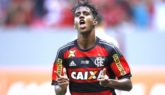 Gabriel, Flamengo X Ponte Preta (Foto: Gilvan de Souza / Flamengo.com.br)