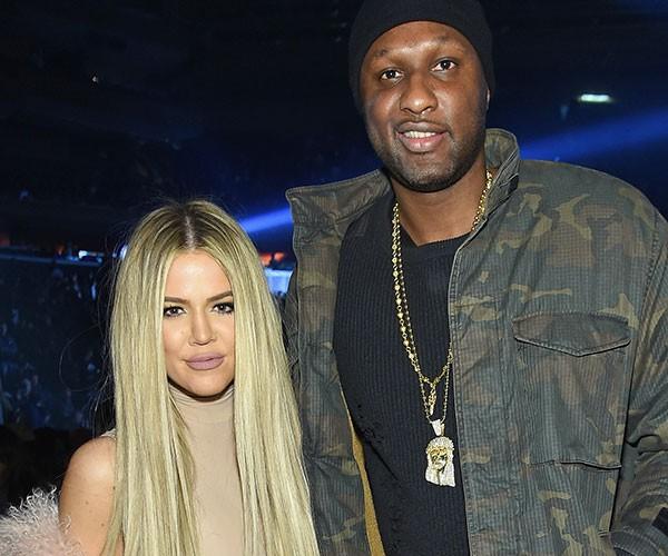 Lamar Odom e Khloé Kardashian (Foto: Getty Images)