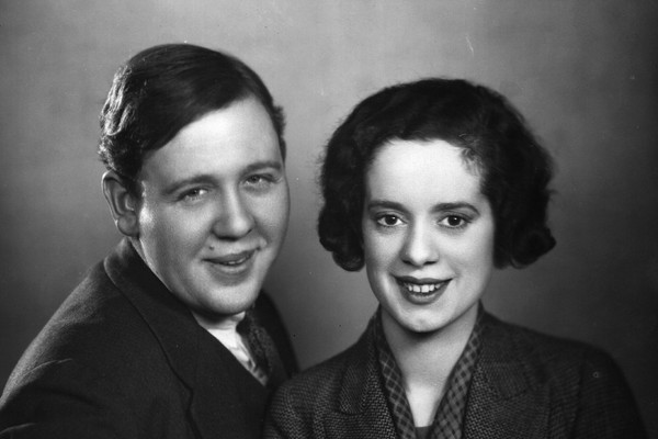 Charles Laughton e Elsa Lanchester (Foto: Getty Images)