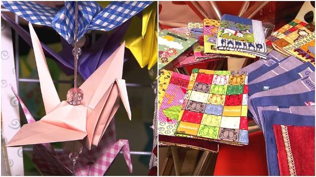 Viver Bem - Origami (Foto: Reprodução/TV Tribuna)