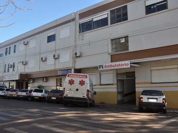 Após susto, local foi desinfectado e liberado para pacientes e funcionários (Foto: Priscila Devens/Prefeitura de Palmeira das Missões)