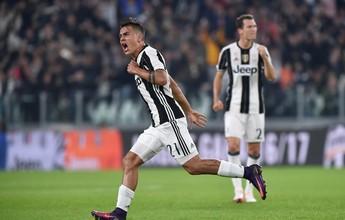 Udinese assusta após falha de Buffon, mas Juventus vira com dois de Dybala