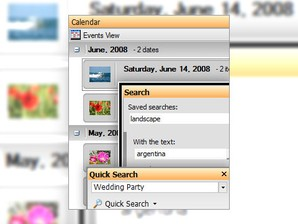 ACDSee Photo Manager 2009: organização de fotos cheia de opções.