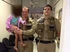 'Estava com saudades', diz mãe de menina sequestrada pelo pai em MT
