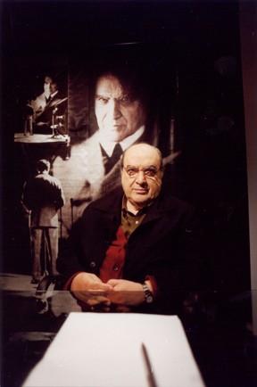Antonio Abujamra (Foto: Eduardo Campos/Tv Cultura)