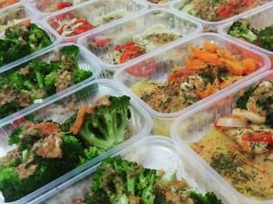 Alimentação é balenceada e de baixa caloria (Foto: Anna Letícia Gomes / Arquivo Pessoal)