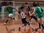 Em clssico, Verdo vence Peixe no Metropolitano de futsal sub-20