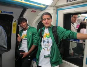 Grupo Vivência Olímpica em Londres (Foto: Lydia Gismondi / Globoesporte.com)