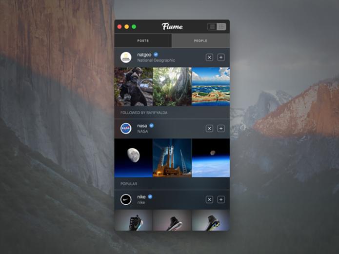 Envie e visualize fotos e vídeos no Instagram
