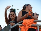 Dia de axé: veja famosos que curtiram carnaval de Salvador neste domingo, 10
