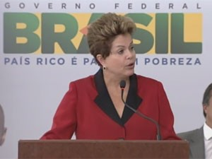 Dilma Rousseff lança pacote de defesa do consumidor (Foto: Reprodução)