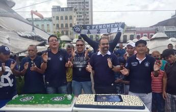 Clube do Remo completa 111 anos de fundação, com bolo e baile de carnaval
