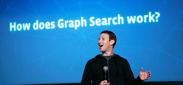 Mark Zuckerberg apresenta a Busca Social do Facebook (Foto: Getty Images)