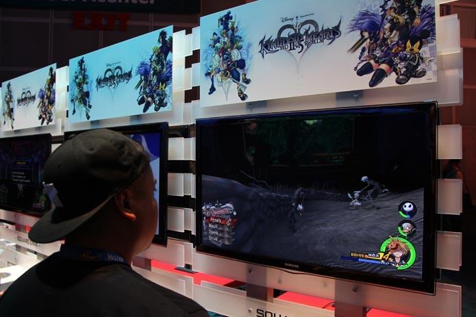 Kingdom Hearts HD 2.5 Remix (Foto: Felipe Vinha/ TechTudo)