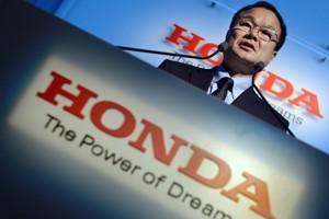 Takanobu Ito, presidente da Honda (Foto: AFP PHOTO/Toru YAMANAKA)