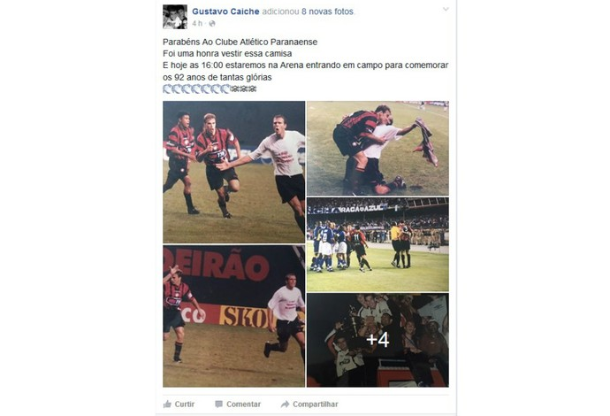 Gustavo Atlético-pR (Foto: Reprodução/Instagram)