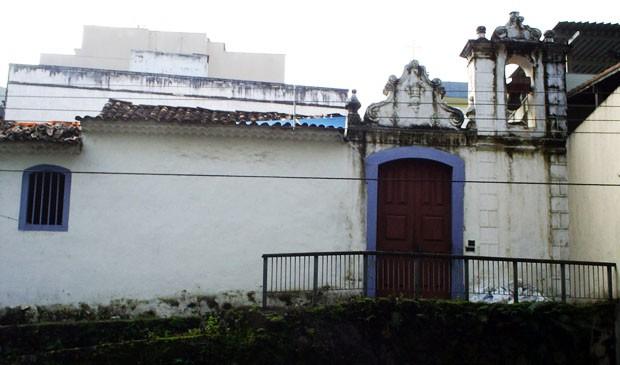 Capela fica no Centro de Vitória. (Foto: Divulgação)