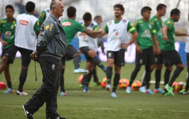 Felipão treino seleção brasileira brasil (Foto: Mowa Press)