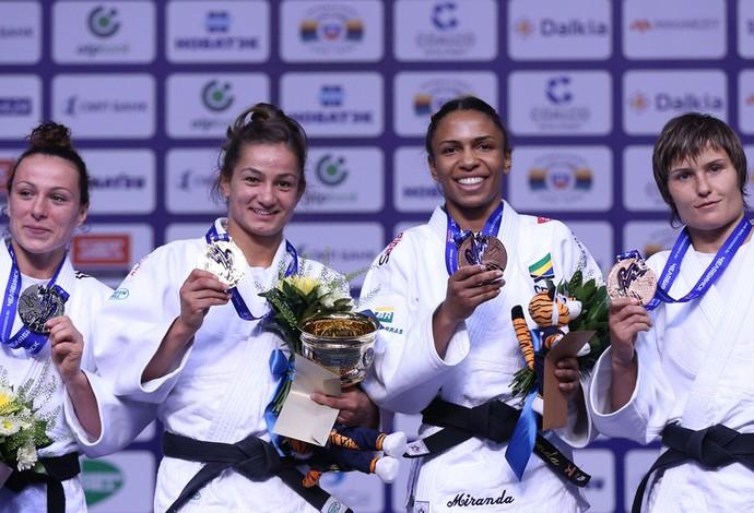 erika miranda judo podio (Foto: Divulgação / IJF)
