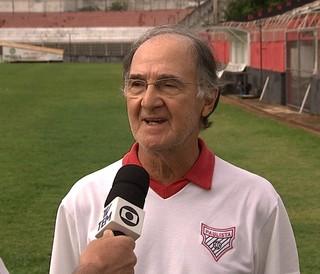 Cobrinha relembra época em que Caio Júnior vestia a camisa do Paulista de Jundiaí (Foto: Reprodução/TV TEM)