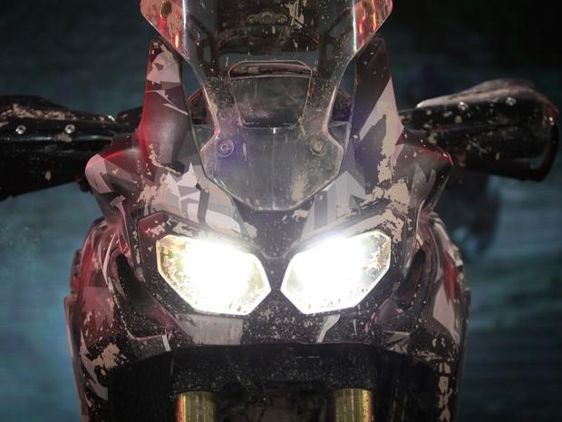True Adventure, conceito da Honda, é apresentado no Salão Duas Rodas 2015 (Foto: Caio Kenji/G1)